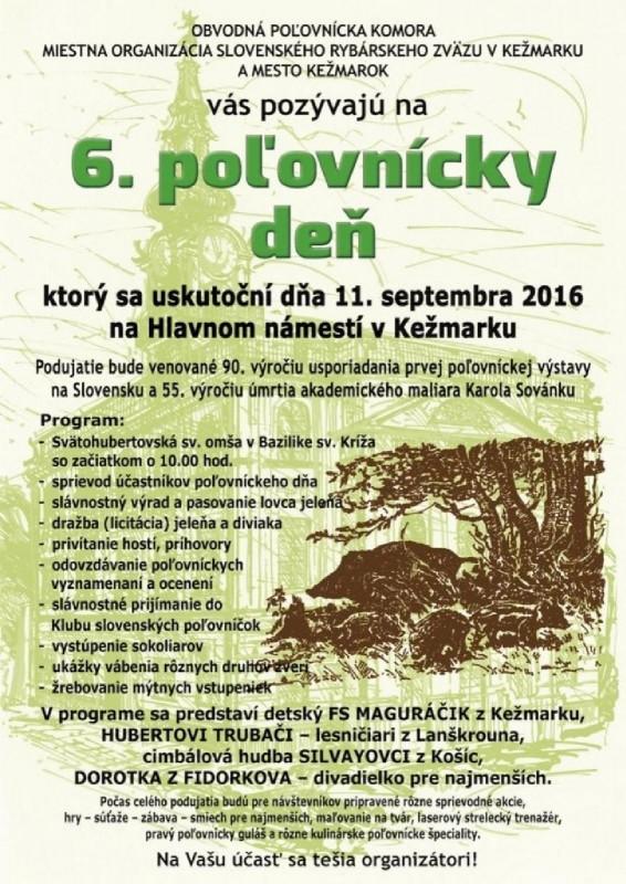 Obrázok: 6. poľovnícky deň v Kežmarku