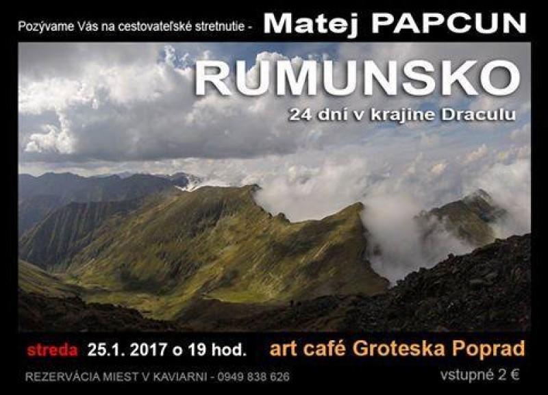 Obrázok: Matej Papcun - Rumunsko