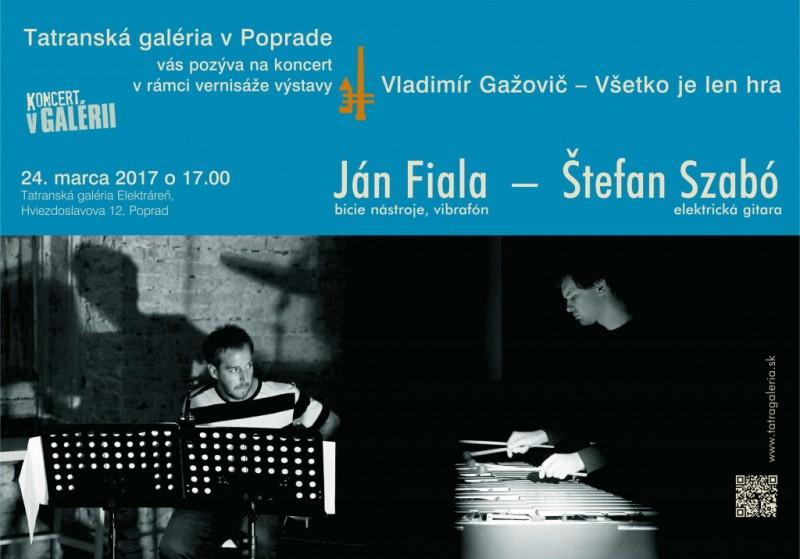 Obrázok: Koncert Ján Fiala a Štefan Szabó