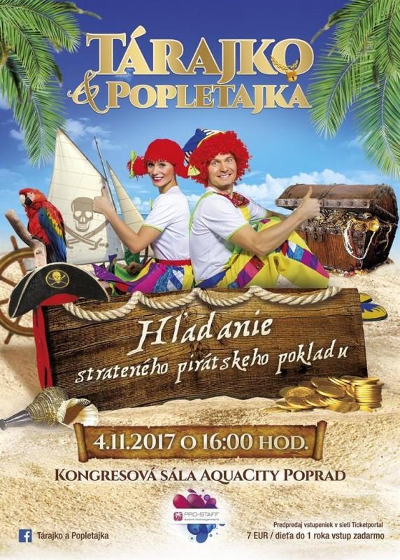 Obrázok: Tárajko a Popletajka – premiéra novej show