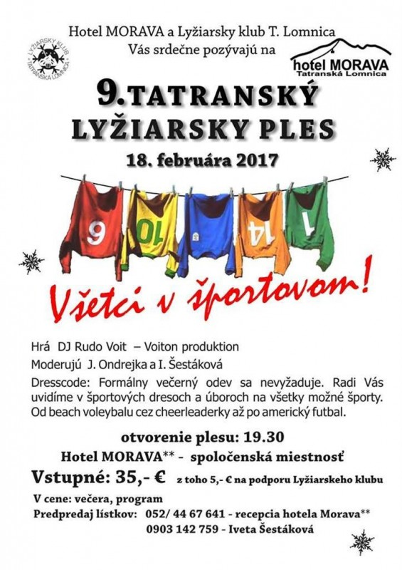 Obrázok: 9. Tatranský lyžiarsky ples
