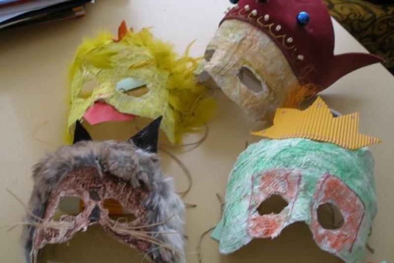 Obrázok: Fašiangová maska