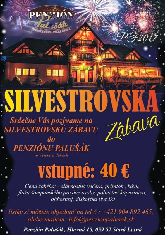 Obrázok: Silvester v penzióne Palušák