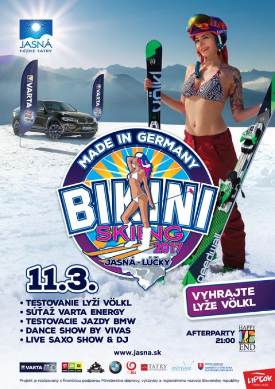 Obrázok: Bikini skiing 2017