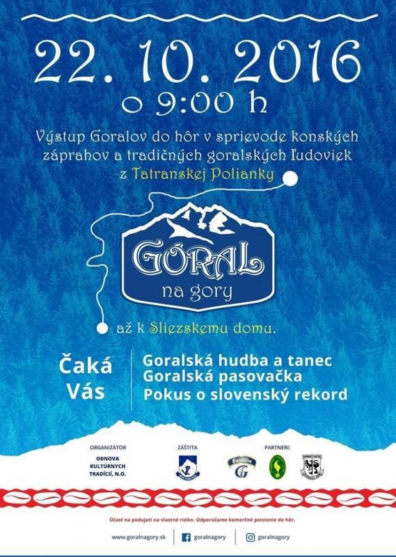 Obrázok: Goral na gory 2017 - Tatranská Polianka
