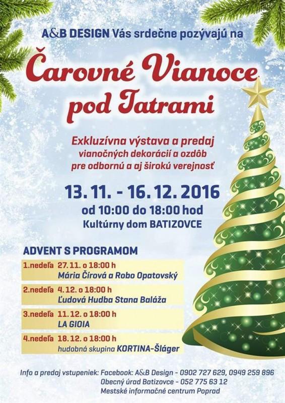 Obrázok: Čarovné Vianoce pod Tatrami