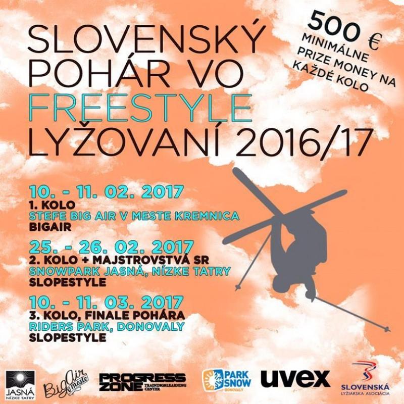 Obrázok: Slovenský pohár vo freestyle lyžovaní - 3. kolo FINÁLE