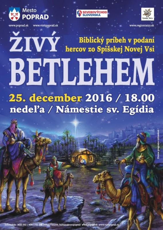 Obrázok: Živý Betlehem