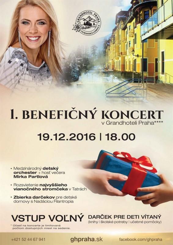 Obrázok: 1. benefičný koncert Grandhotela Praha