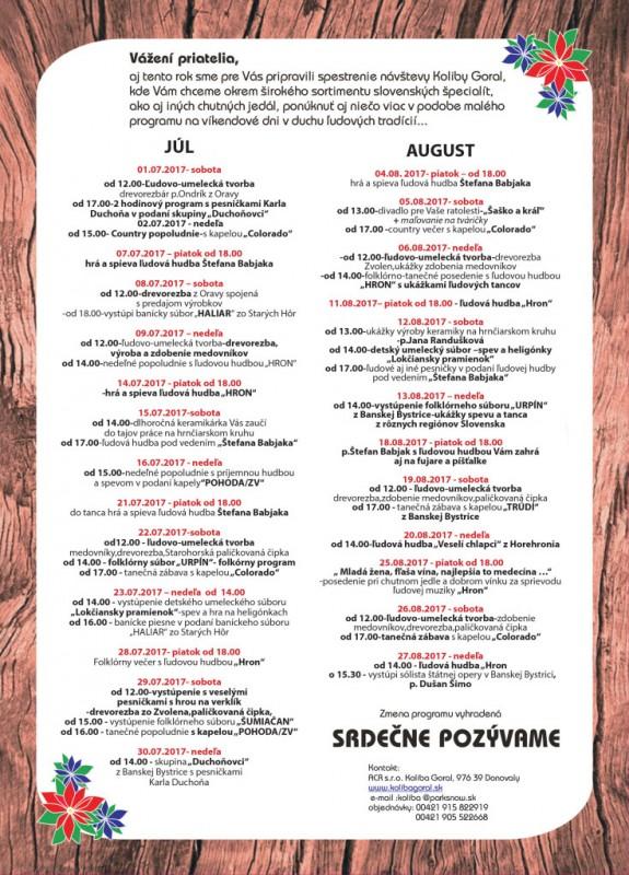 Obrázok: Letný program v Kolibe Goral