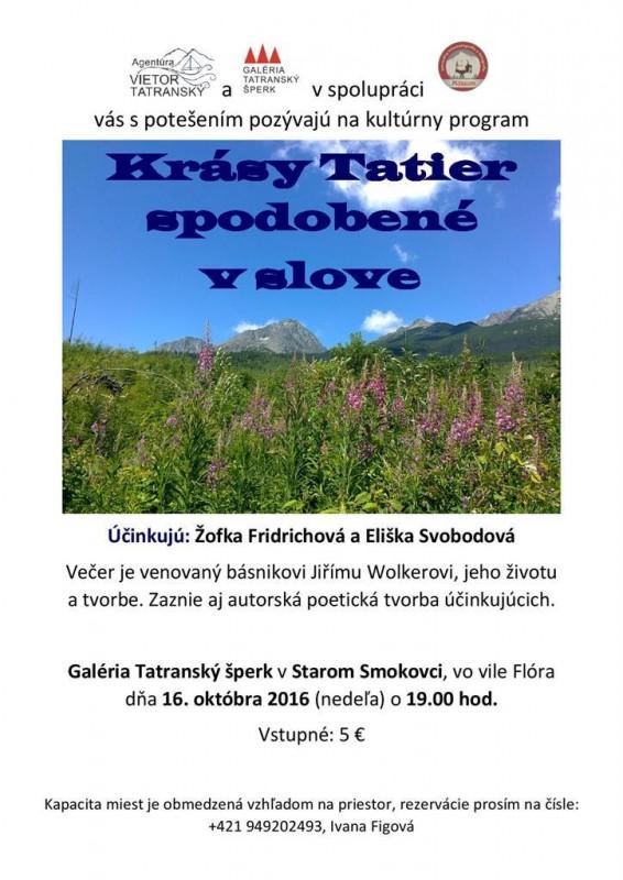 Obrázok: Krásy Tatier spodobené v slove