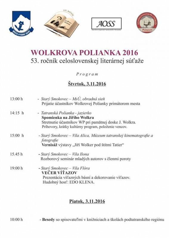 Obrázok: Wolkrova Polianka 2017