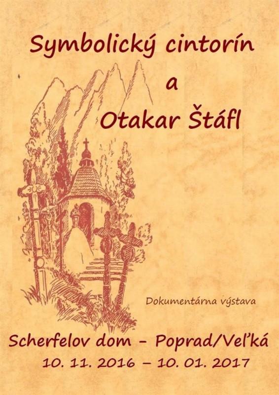 Obrázok: Symbolický cintorín a Otakar Štáfl
