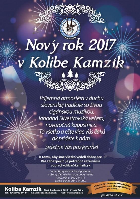 Obrázok: Nový rok 2017 v Kolibe Kamzík