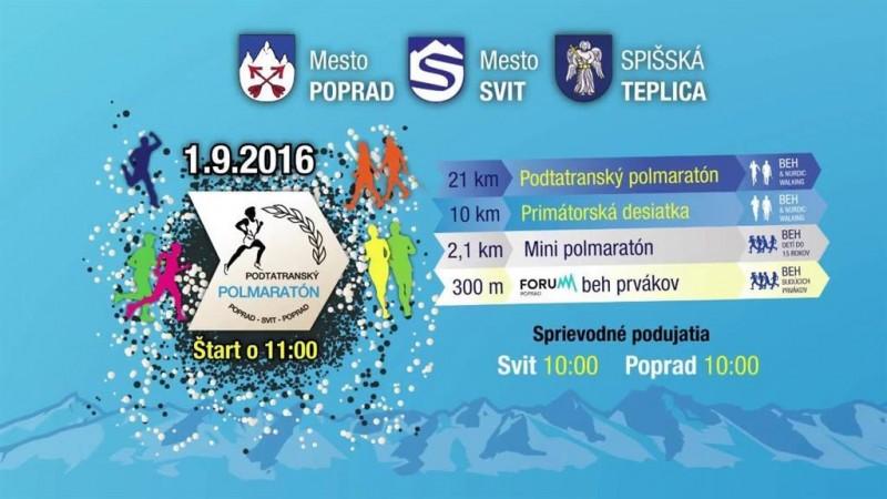 Obrázok: Pod Tatrami sa pobeží polmaratón