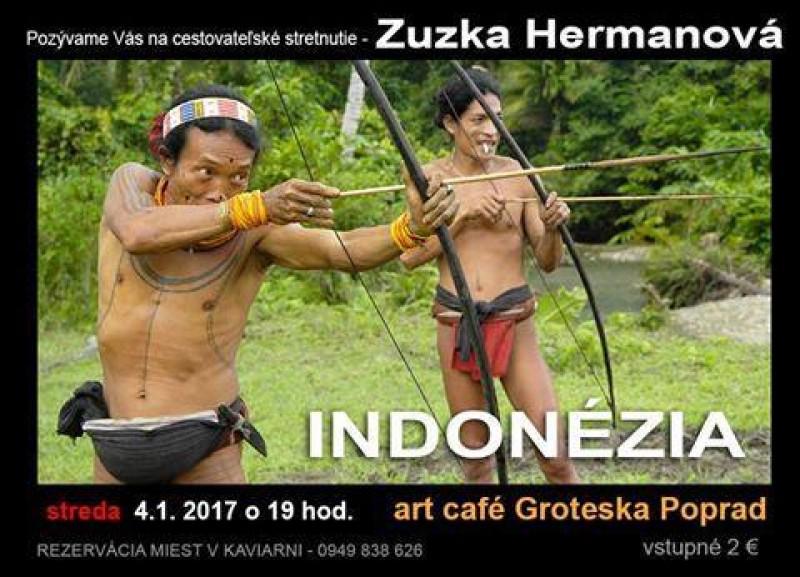 Obrázok: Zuzka Hermanová -  Indonézia