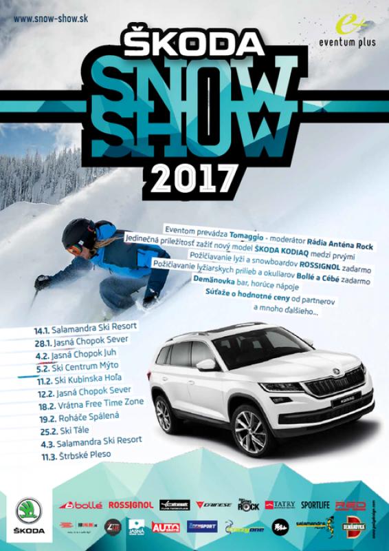 Obrázok: Škoda Snow Show 2017 - Štrbské Pleso