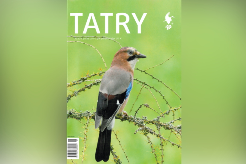 Obrázok: Nové číslo časopisu TATRY je už v predaji