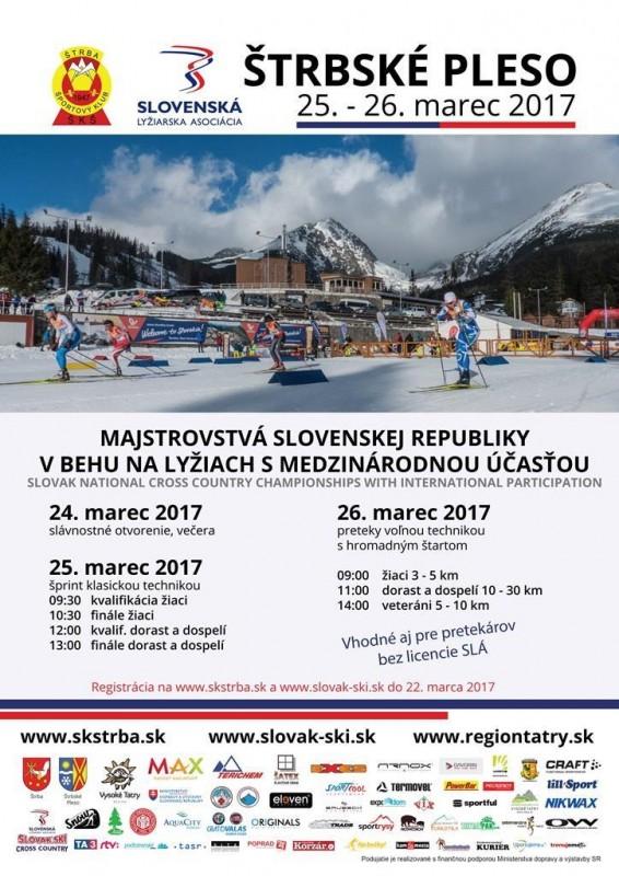 Obrázok: Majstrovstvá SR v behu na lyžiach