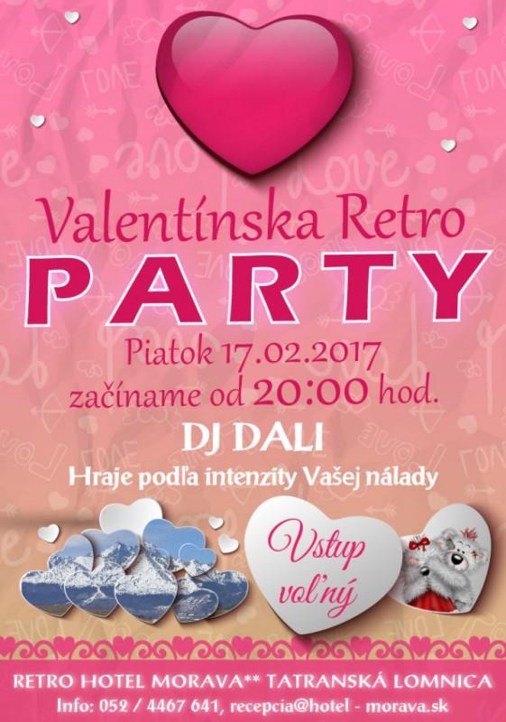 Obrázok: Valentínska retro párty